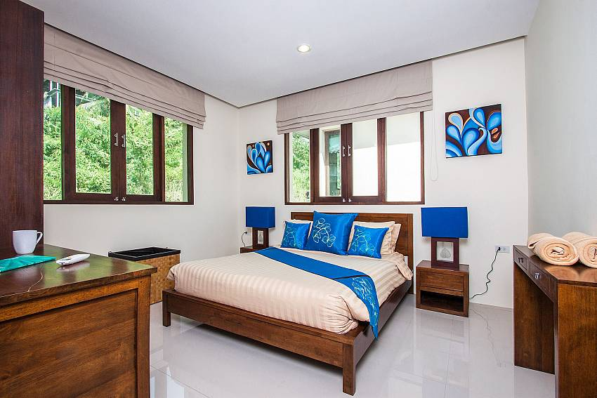 Bedroom with the vanity of Baan Phu Kaew C1 (Second)