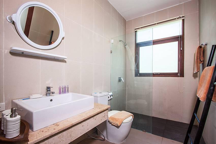 Toilet with basin wash of Baan Phu Kaew C1