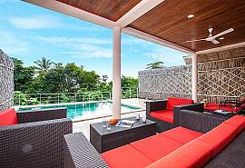 Baan Phu Kaew C2 - Яркая стильная вилла с 3-мя спальнями, панорамным видом и собственным бассейном