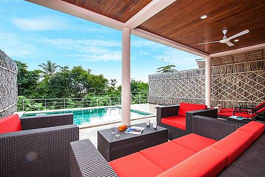 Аренда виллы на Самуи: Baan Phu Kaew C2 - 3 Bedroom Pool Villa, 3 Спальни. 9765 бат в день
