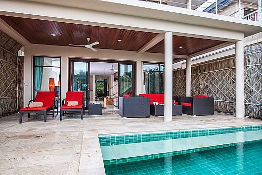 Аренда виллы на Самуи: Baan Phu Kaew C2 - 3 Bedroom Pool Villa, 3 Спальни. 9342 бат в день