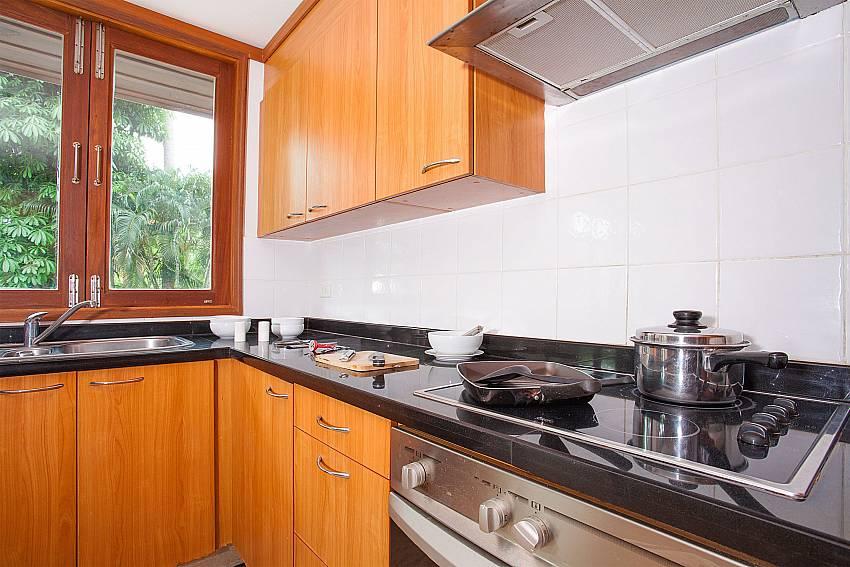 Western style kitchen Ban Talay Khaw B12 near Choeng Mon Beach Samui Thailand