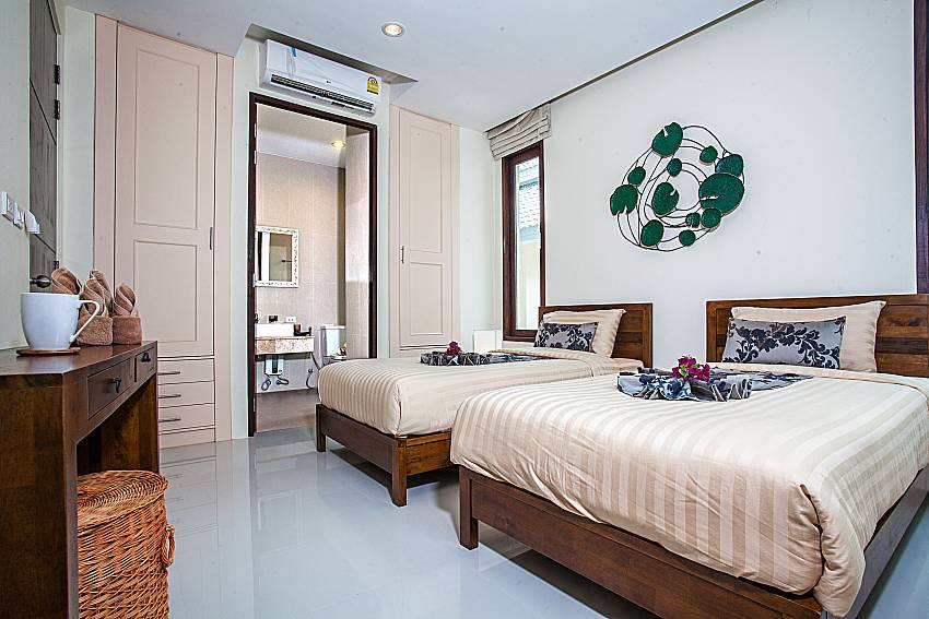Double bedroom with shelves of Baan Phu Kaew C3 (Second)