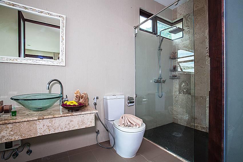 Toilet with basin wash of Baan Phu Kaew C3