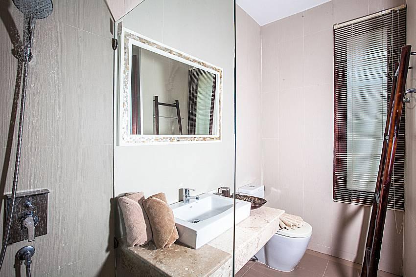 Shower with basin wash of Baan Phu Kaew C4