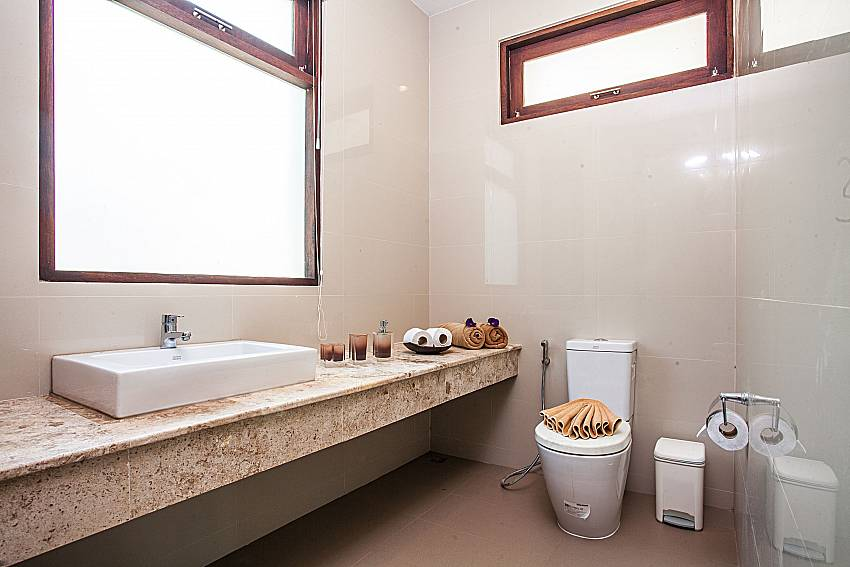 Toilet with Basin wash of Baan Phu Kaew C5