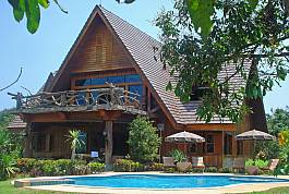 Large 6br Countryside Villa With Private Pool and Huge Garden Chiang Dao