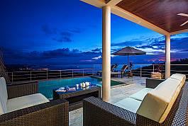 Villa in luxuriösem Umfeld zum Mieten mit unvergleichbarem Blick
