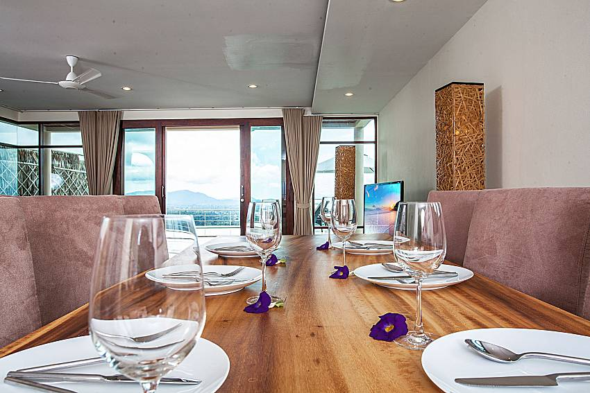 Dinning table see view of Baan Phu Kaew A2