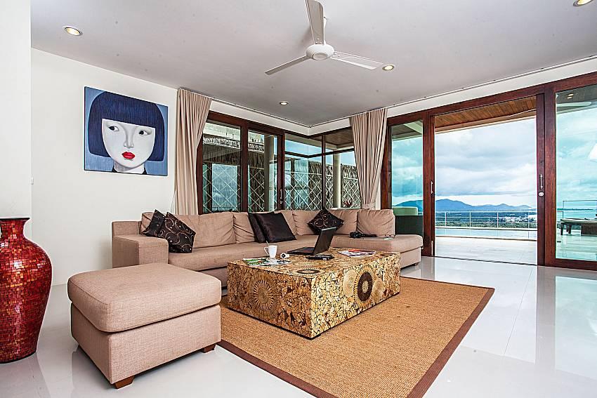 Living room walking distance outside of Baan Phu Kaew A2