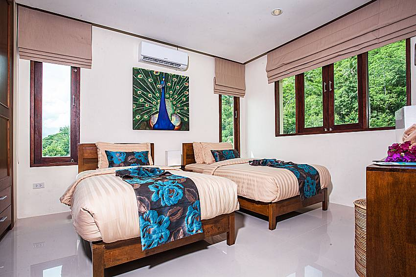 Double bedroom views of Baan Phu Kaew A2 (First)
