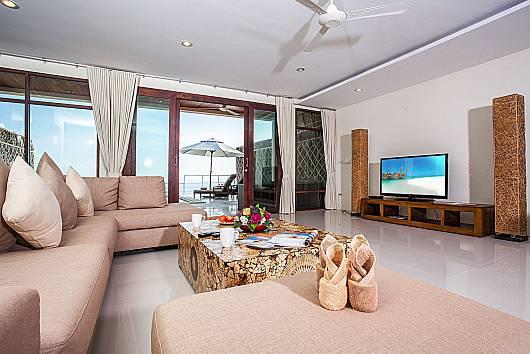 Аренда виллы на Самуи: Baan Phu Kaew A3 – 3 Bedroom Hillside Villa with Pool, 3 Спальни. 9342 бат в день