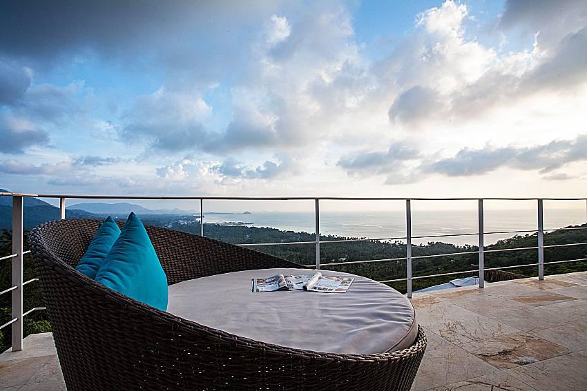 Sofa outdoor on balcony of Baan Phu Kaew A3