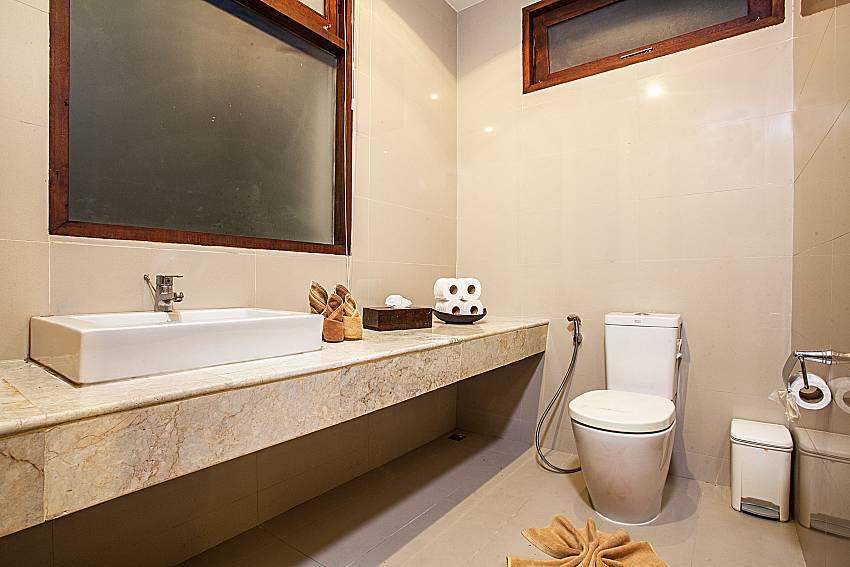 Toilet with basin wash of Baan Phu Kaew A3