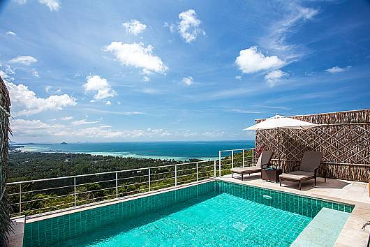 Аренда виллы на Самуи: Baan Phu Kaew A4 – 3 Bedroom Hillside Pool Villa, 3 Спальни. 9765 бат в день