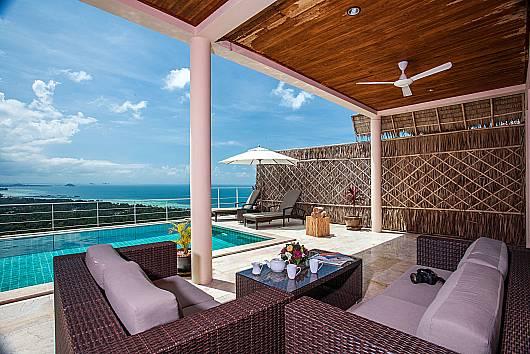 Аренда виллы на Самуи: Baan Phu Kaew A4 – 3 Bedroom Hillside Pool Villa, 3 Спальни. 9342 бат в день