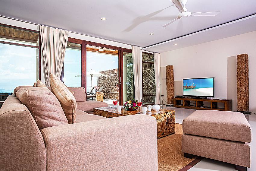 Living room of Baan Phu Kaew A4