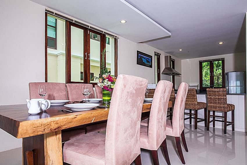 Dinning table near the kitchen room of Baan Phu Kaew A4