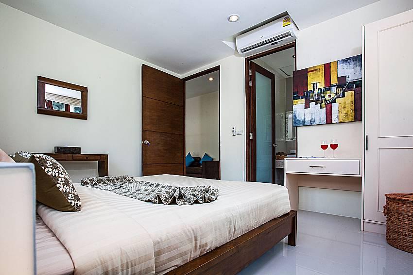Bedroom with wardrobe of Baan Phu Kaew A4 (Second)