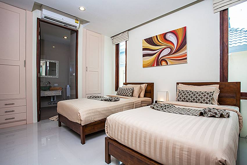 Double bedroom with wardrobe of Baan Phu Kaew A4 (Third)