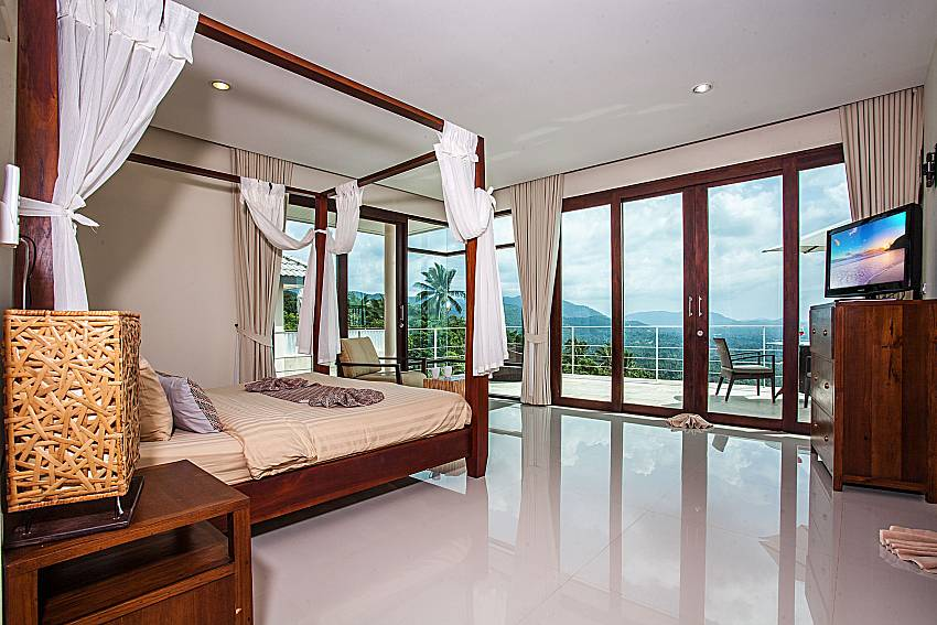 Bedroom overlook outside of Baan Phu Kaew A4 (First)