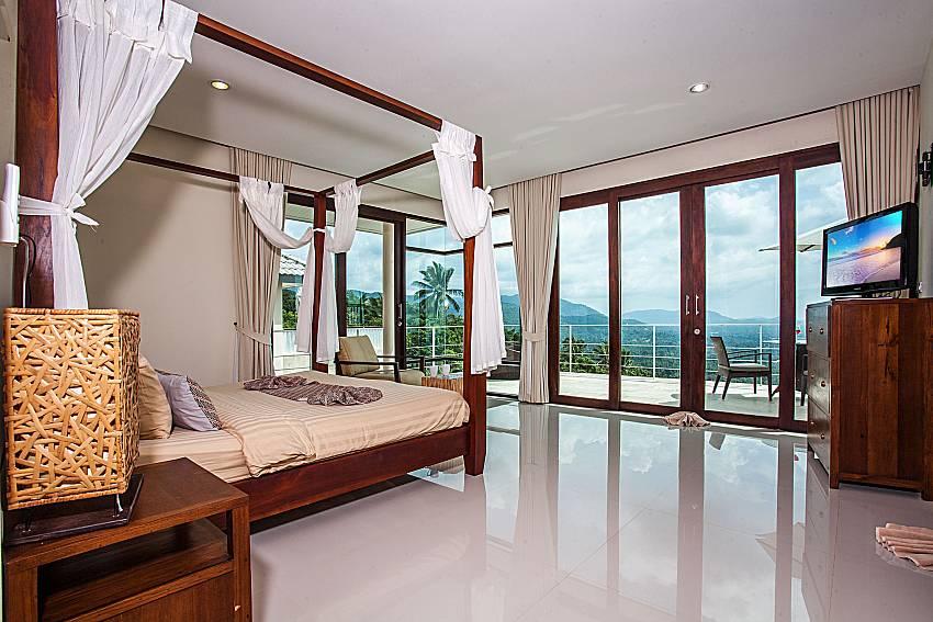 Bedroom overlook outside of Baan Phu Kaew A4 (First)