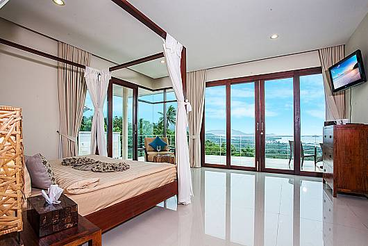 Аренда виллы на Самуи: Baan Phu Kaew A5 – 3 Bedroom Pool Villa on The Hills, 3 Спальни. 9765 бат в день