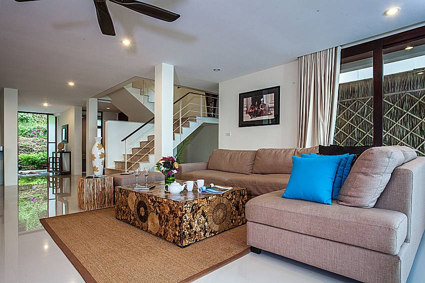 Living room near the ladder of Baan Phu Kaew A5