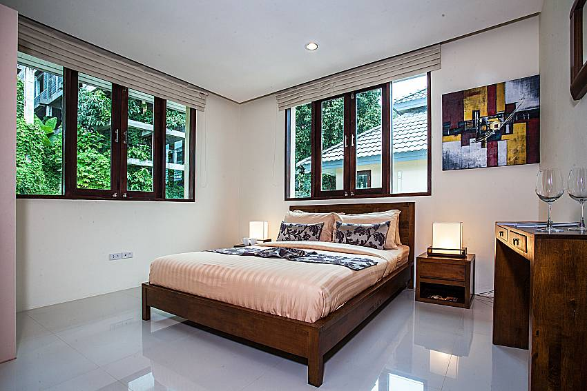 Bedroom with vanity of Baan Phu Kaew A5 (Second)