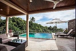 Villa mit exklusivem Design und privatem Pool zum Mieten