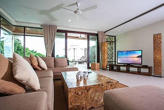 Аренда виллы на Самуи: Baan Phu Kaew A6 – 3 Bedroom Hillside Pool Villa, 3 Спальни. 9342 бат в день