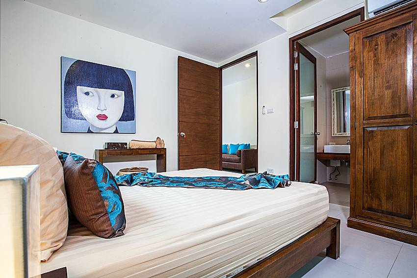 Bedroom with wardrobe of Baan Phu Kaew A6 (First)