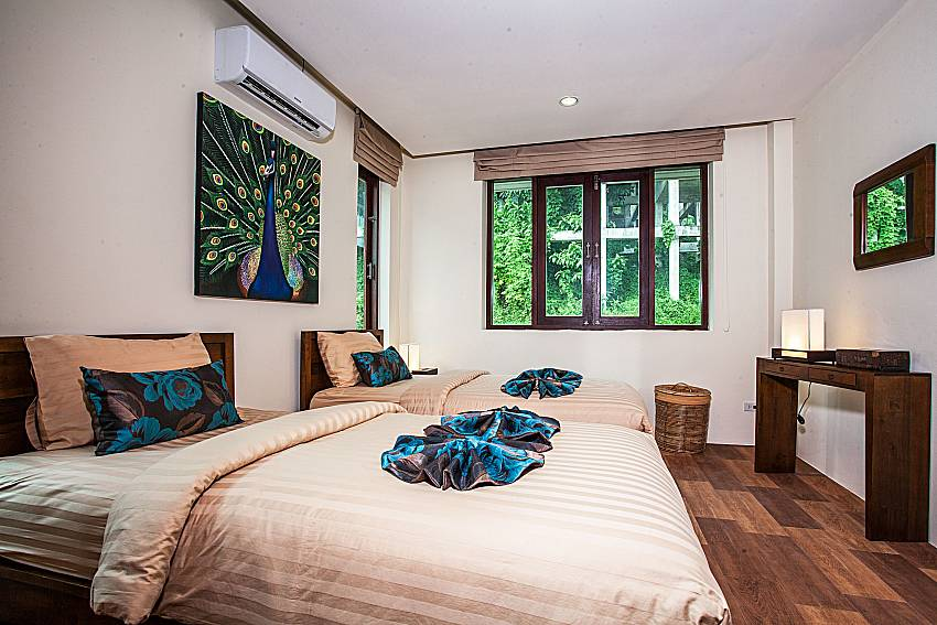 Double bedroom views of Baan Phu Kaew A6 (Second)
